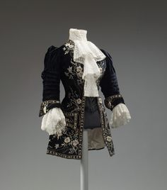 Morin Blossier riding jacket ca. 1905