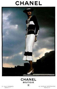 ana_lee: Inès de la Fressange: Chanel Ad's 1980s