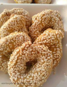 Greek Desserts, Sweets Recipes, Doughnut, Favorite Recipes, Cookies, Breakfast, Food, Crack Crackers, Morning Coffee