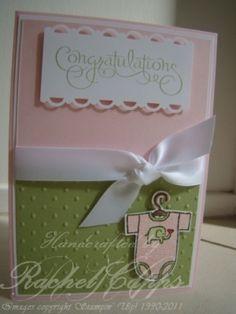 Baby Girl Card by Subjects Chosen at Random