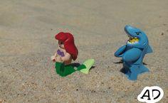 Sereia/tubarão