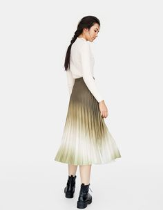 Falda plisada tie dye - Faldas   Pichis de mujer  0645bc30fadd