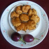 Brinjal Bhaji Recipe from givoli.com