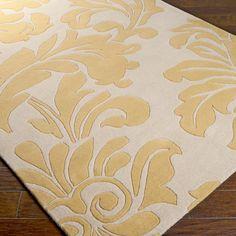 Gray And Gold Ikat Jute Brush Cut Rug Brush Cut Jute