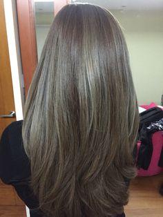 Yay for ash brown hair!