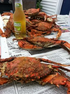 ♥♡♥ Steamed Crabs- Photo by Pamela Goldhammer Photography.