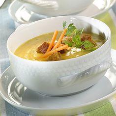 Cremige Gemüse  Suppe