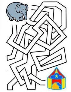 Dyslexia Activities, Childcare Activities, Craft Activities For Kids, Diy For Kids, Crafts For Kids, Circus Crafts, Music Lessons For Kids, Mazes For Kids, Maze Puzzles