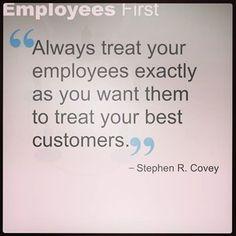 Always treat your em