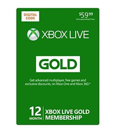 Get your Cool Xbox Live 12 Month Gold Membership [Online Game Code] and feel Fulfilled. http://www.wiifom.com/shop/xbox-live-12-month-gold-membership-online-game-code/