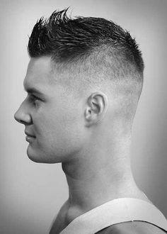 Ideas for hair men short cut faux hawk Faux Hawk Hairstyles, Cool Hairstyles For Men, Haircuts For Men, Men's Hairstyles, Medium Hairstyles, Popular Hairstyles, Wedding Hairstyles, Faux Hawk Men, Short Faux Hawk