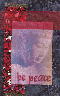 opaque image with bold lettering....scrapbook idea!