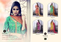 ac8cdee8dc KALARANG RANGRITI BY KESSI COTTON PRINTED WORK SALWAR KAMEEZ WHOLESALE  DEALER ( 4 Pcs / 599 PP ) Full Price 2396