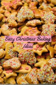 Easy Christmas Baking Ideas www.glamthug.com