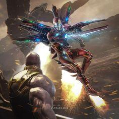 IronMan Vs.Thanos Fanmade Art