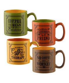Fun message 'Coffee' mugs!