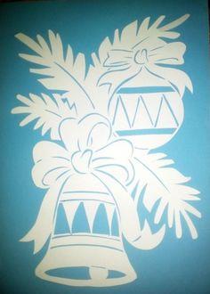 Одноклассники #scrollsawpatterns Christmas Stencils, Easy Christmas Crafts, Christmas Bells, Christmas Signs, Christmas Art, Simple Christmas, Metal Crafts, Diy And Crafts, Paper Crafts