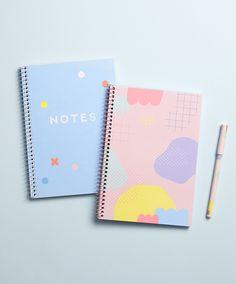 Be inspired to study in style with these cute notebooks
