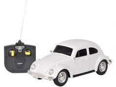 Carro de Controle Remoto Volkswagen Fusca Branco - 07 Funções - CKS com as melhores condições você encontra no Magazine Siarra. Confira!