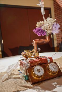 Beautiful Steampunk Wedding