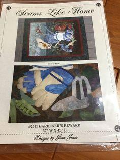 Gardeners Rewards Quilt Pattern By Seams Like Home New    eBay