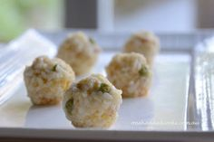 one handed cooks: baby & toddler food: pumpkin bacon risotto balls Baby Food Recipes, Cooking Recipes, Toddler Recipes, Family Recipes, Children Recipes, Clean Recipes, Rice Recipes, Cooking Ideas, Pork Recipes