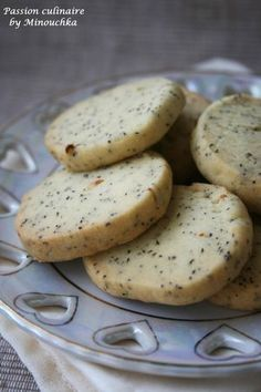 Biscuits au thé Earl grey - Passion culinaire by Minouchka