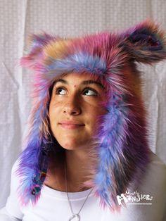 Rainbow Dash!!! Aviator SuperPlushie Hat Popular Ponies by MostlyMonstersCV