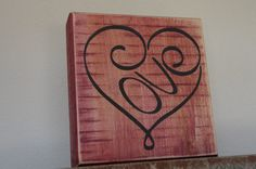A personal favorite from my Etsy shop https://www.etsy.com/listing/503744743/valentine-heart-sign-wood-valentine