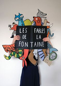 Fantastic illustrations and paperwork by Jean Jullien