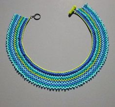 Ecuadorian netted necklace at http://craxy.us