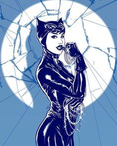 "2,175 curtidas, 19 comentários - Lucas Werneck (@lukaswerneck) no Instagram: ""CaTwoman #digitalink #vilain #sketch #catWoman #SirensofGotham #Batman #comics #selinakyle"""
