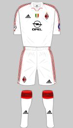 ac milan 2005 uefa champions league final kit
