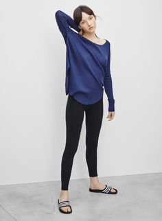 TNA EQUATOR LEGGING - The perfect fabric and fit, with a special choose-your-own-length option $22