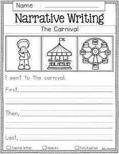 August Writing Prompts by Miss Faleena   Teachers Pay Teachers Writing Prompts 2nd Grade, Narrative Writing Prompts, Kindergarten Writing Prompts, Writing Prompts Funny, Writing Prompts For Writers, Picture Writing Prompts, Kindergarten Worksheets, Sentence Writing, Writing Genres