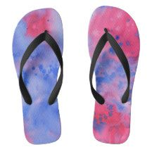 Abstract Purple and Pink Watercolor Pattern Flip Flops Watercolor Texture, Watercolor Pattern, Pink Watercolor, Home Decor Sets, Poster Prints, Art Prints, Beltane, Anne Of Green Gables, Craft Party