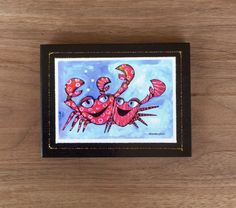 Sparkling Art Block print – Nettie Price Sparkling Art