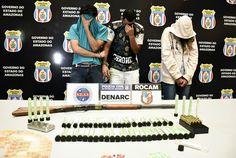 Droga está avaliada em R$ 100 mil A Polícia Civil do Amazonas, por meio das equipes do Departamento de Investigação sobre Narcóticos (Denarc), em ação conjunta com integrantes da Secretaria-Executiva-Adjunta de Inteligência (Seai) da Secretaria de Estado de Segurança Pública do Amazonas (SSP-AM) e policiais militares da Ronda Ostensiva Cândido Mariano (Rocam), prendeu, em flagrante, na tarde de segunda-feira, dia 10, por volta das 17h, o casal Jaysson Henrique de Oliveira, 29, e Mariana…