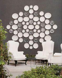 Kelly Wearstler interior. platters.patio~