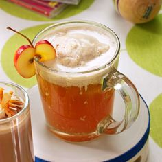 Hot Apple Pie Sipper Recipe -If you love apple pie, this tasty beverage was created just for you. The ice cream batter gives the sweet cider a smooth creamy texture. Make it an adult drink by stirring in a little brandy. —Connie Young, Pony, Montana