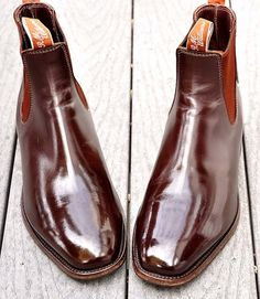 The classic RM Williams Craftsman elastic sided boot in chestnut yearling. $385 at rmwilliams.com.au