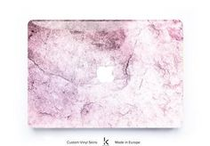 Sweetest MacBook Skin with a Marble texture we have ever designed! Its warm pink shade will brighten your day at work and jazz up the home office. There's no better way to personalize marble-addicts MacBook :) Don't hesitate to complete the set with other marble design, for example, blush + black marble. You're the boss here! Apple Laptop Macbook, Macbook Skin, Macbook Case, Marble Texture, Marble Print, Black Marble, Brighten Your Day, Blush, Jazz
