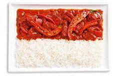 food flags: SAMBAL