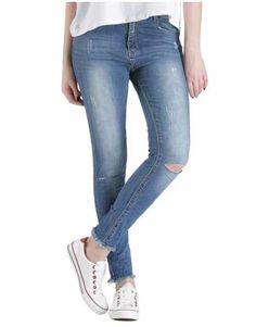 ΝΕΕΣ ΑΦΙΞΕΙΣ :: Jean Ripped Regular Fit - OEM Ripped Jeans, Oem, Fitness, Tattered Jeans, Destroyed Jeans, Holy Jeans