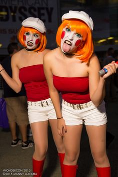 Wondercon 2015 Cosplay Twins | Flickr - Photo Sharing!