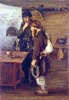 Hunters - Nikolay Bogdanov-Belsky