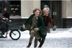 Death recollects while war steals innocence: The Book Thief #movie review