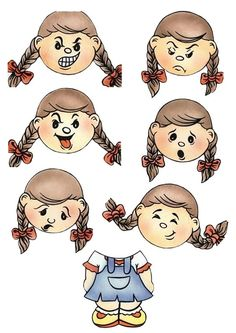 Emotions Preschool, Teaching Emotions, Feelings Activities, Toddler Learning Activities, Montessori Activities, Feelings And Emotions, Kids Learning, Activities For Kids, Cartoon Faces