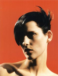 Stella Tennant shot by David Sims for allure magazine c 1996 from Guido Palau's book Heads. Photography Projects, Portrait Photography, Fashion Photography, Stella Tennant, David Sims, First Photograph, Perfect Skin, Great Hair, Drawing People