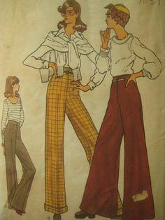 Vintage Vogue 1970s